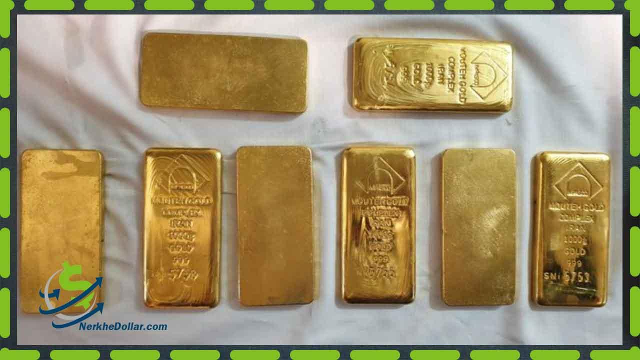 تصویر قیمت شمش طلا یک کیلویی خالص سوئیسی Pamp