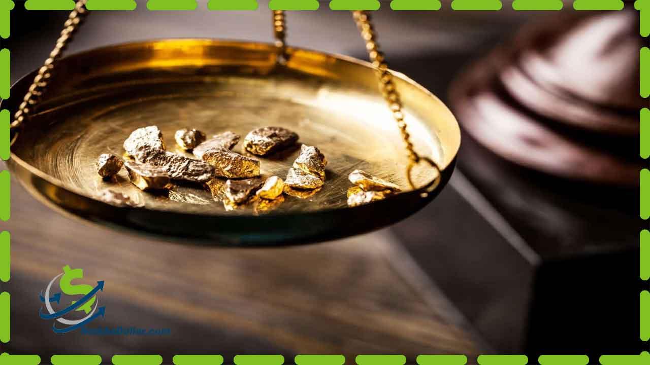 تصویر قیمت مثقال طلا 18 عیار امروز انلاین چقدر و چند گرم است