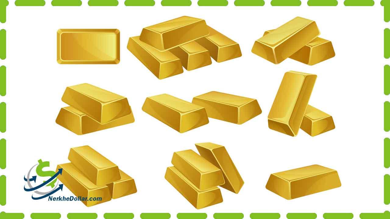 قیمت طلا در حال حاضر امروز در بازار